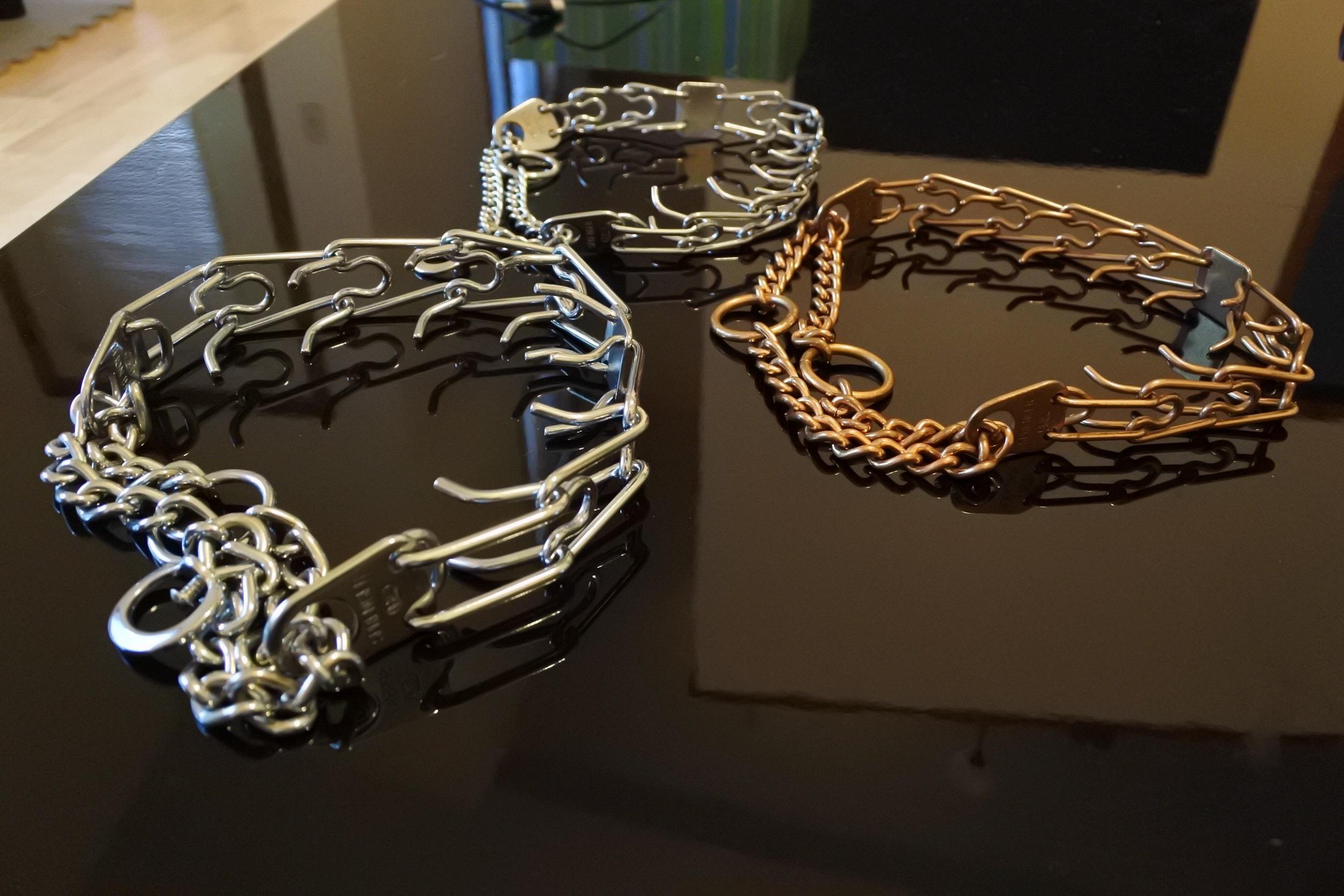 Prong collars