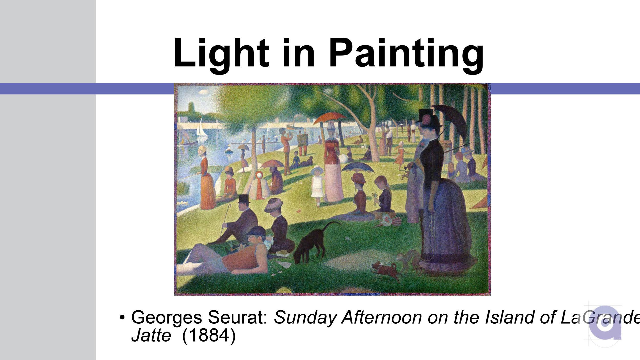 Light Art PowerPoint Presentation