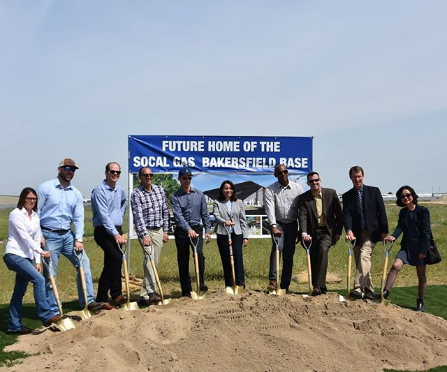 We were honored to be part of the groundbreaking ceremony for the new SoCalGas base in Bakersfield.  We are looking forward to this great project and all of it's sustainable components.  #bakersfield #sustainability #landscapearchitecture #landscape