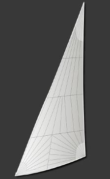 Tri-Radial Cut Sail