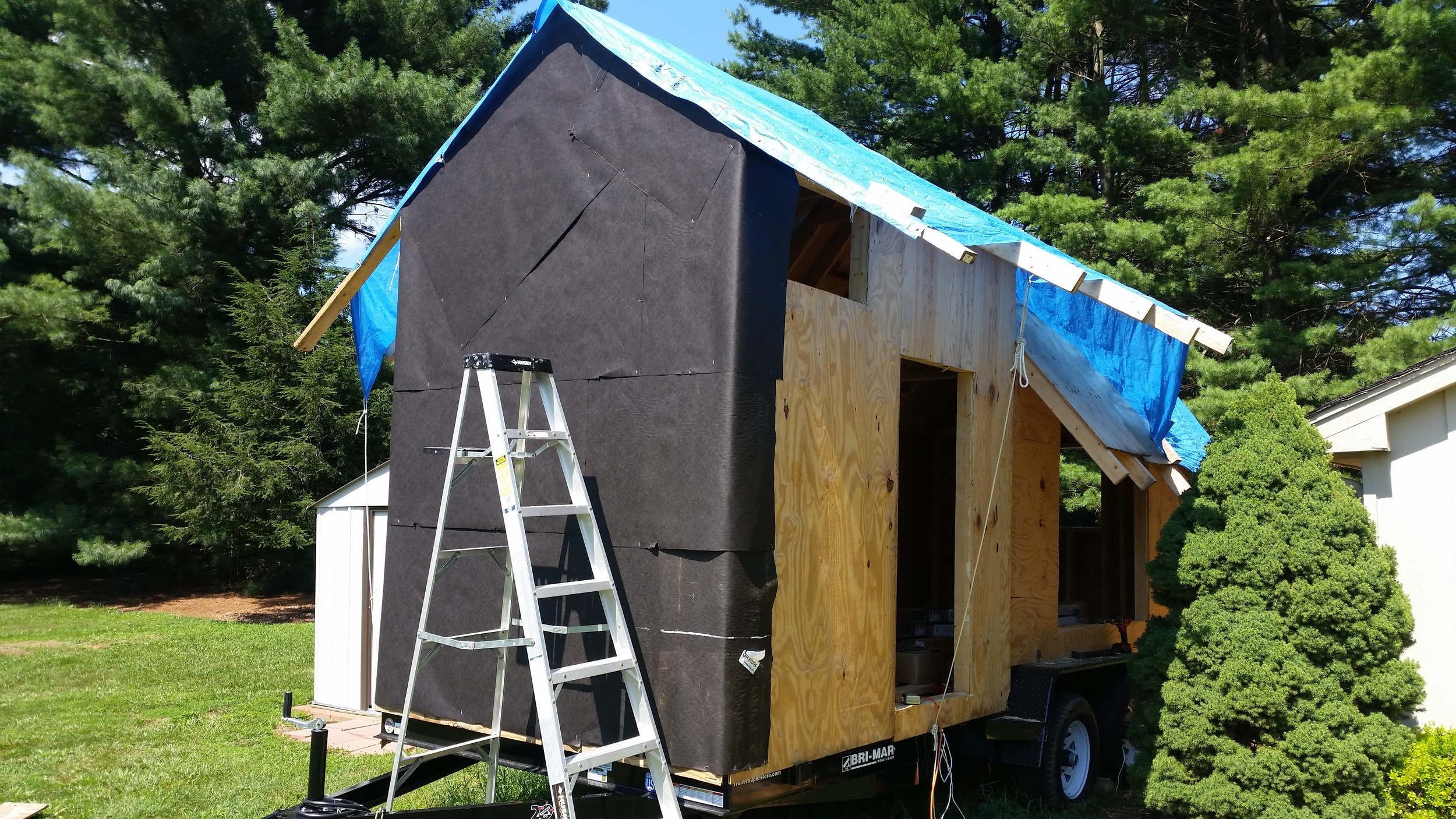 Wrapping the Tiny House — Rigging Doctor