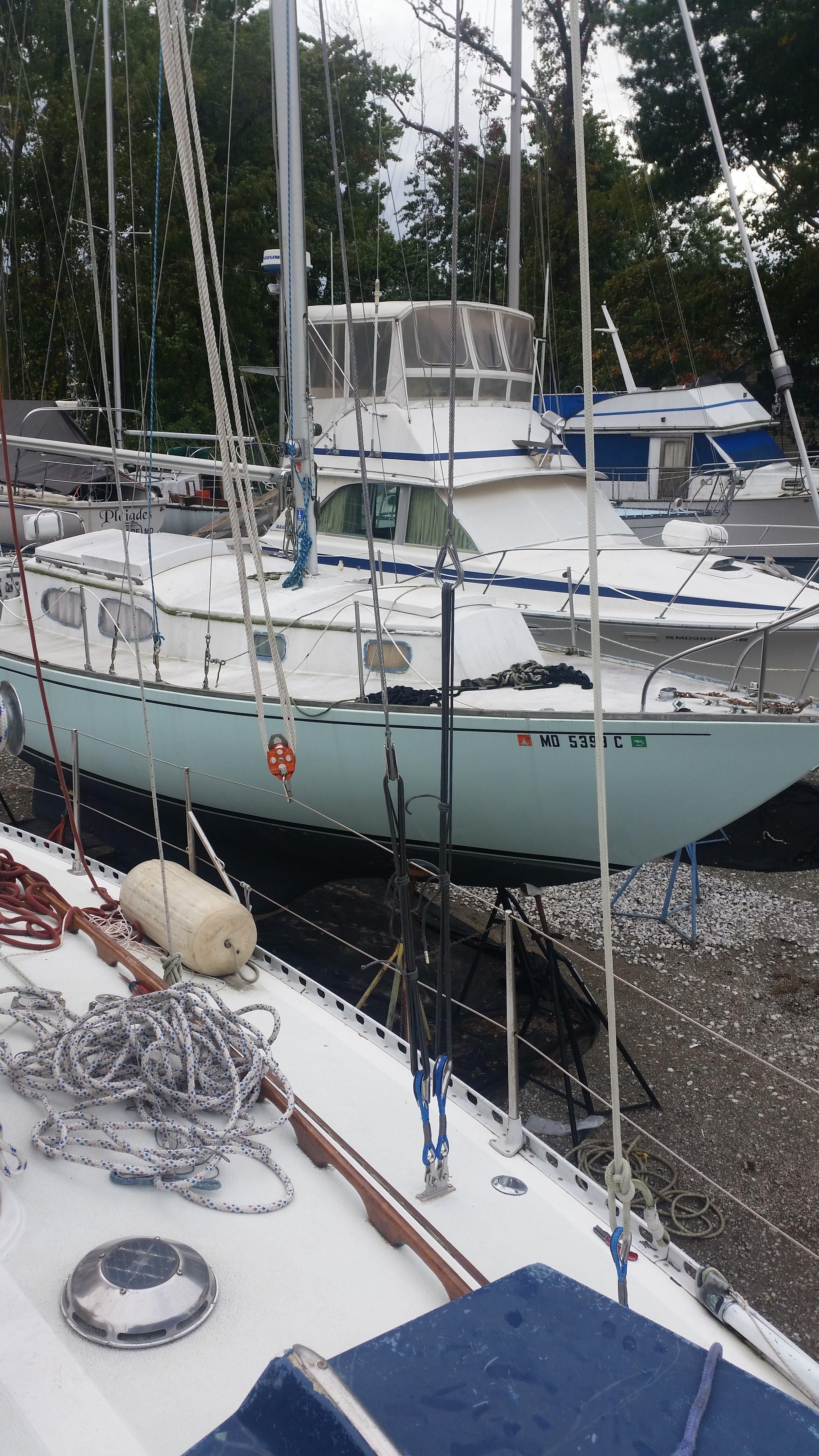 Islander 36 Conversion: Port Side — Rigging Doctor