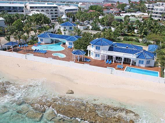 Witenblauw - St. Maarten