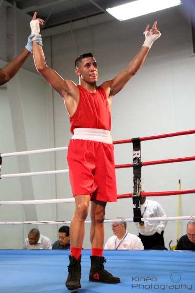 Portland Boxing Club Welterweight Josniel Castro Advances to USA Boxing National Championships Quarterfinals.  Photo courtesy of Kineo Photography.