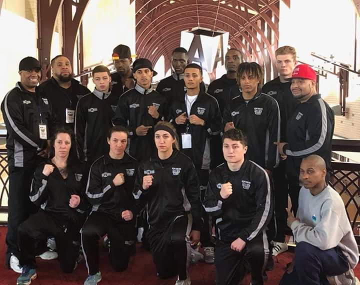 The New England Team at the 2019 National Golden Gloves Tournament of Champions in Chattanooga, TN.