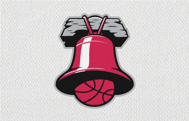 NBA-Style Sports Logo Liberty Bell