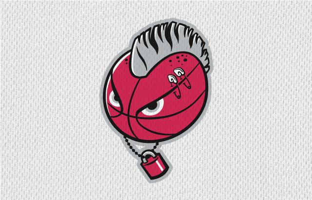 NBA-Style Sports Logo Punks