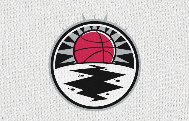 NBA-Style Sports Logo Earthquakes
