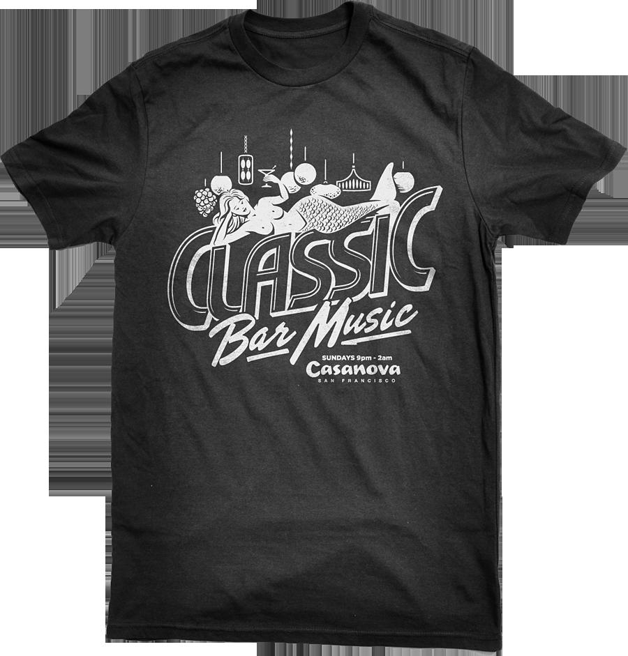 Classic Bar Music Rock and Roll T-Shirt Design