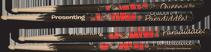 Promotional Drum Sticks for Joani Documentary
