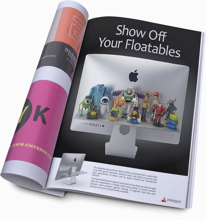 Prism Magazine Print Advertisement
