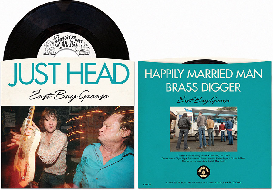 East Bay Grease • Just Head EP • Classic Bar Music Records
