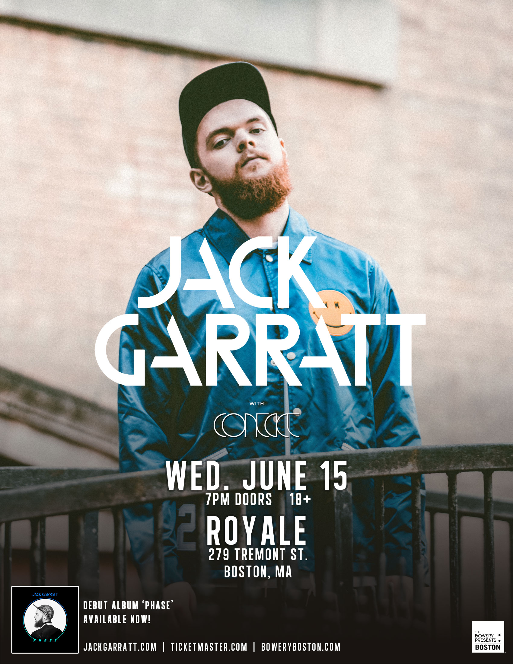 Contact in Boston Jack Garratt