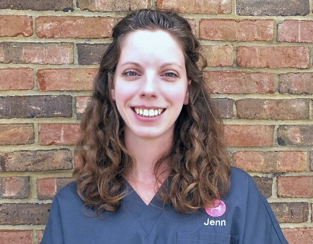 Jennifer Holmes has been a patient care nurse for 11 years. She has experience with many types of animals including cats, dogs, exotics, and wildlife. However, her favorite creatures to care for are geriatric kitties! On the weekends she spends time with her own cat, Lola, and enjoys adventurous eating.