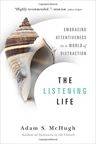 For learning how to listen well. - This book. Man oh man, this book rocked me. I don't know why it's not a bestseller—if I ever get the chance to republish this book I will. I read this during a time of seeking, unsure what it meant to follow Jesus well in a world full of yelling. It graciously woke me up to the beauty of listening. Please, please, please pick this up!InterVarsity Press (2015)