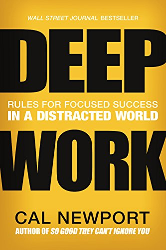 For Work Ethic, Work Ethic, Work Ethic. - This book is in my top five of books I read in the past year. Technically a business book, it can easily be applied to any of the creative professions as well. Using a whole bunch of case studies and anecdotes, Cal Newport creates the case (and provides the steps) to becoming one of the rare 21st Century people with the ability to focus. It kicked me in the butt.Grand Central Publishing (2016).