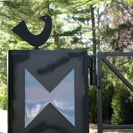 MILLER HOUSE GATES