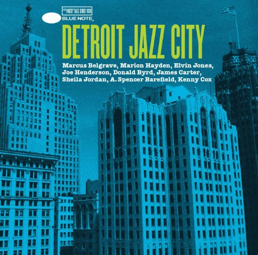 A. Spencer Barefield is included in Detroit Jazz City.        Produced by one of Detroit's native sons, Blue Note Records president  Don Was , who assembled the album by selecting catalog tracks by Detroit-born jazz legends from the Blue Note vaults, and alternating them with new recordings that he produced featuring many of the city's current jazz elite including vocalist  Sheila Jordan , guitarist  Spencer Barefield , bassist  Marion Hayden , saxophonist  James Carter , and the recently departed trumpeter  Marcus Belgrave .    Detroit Jazz City   is a compilation album that simultaneously spotlights the past and present of one of America's great jazz cities while also serving as a benefit album for the organization   Focus: HOPE  . All proceeds from the album will be donated to Focus: HOPE to aid its work to combathunger, economic disparity, inadequate education, and racial divisiveness in Southeastern Michigan.