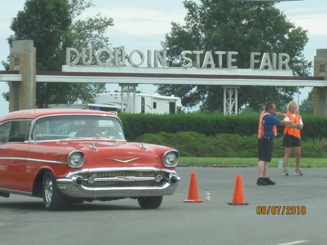 At DuQuoin Fairgrounds entrance