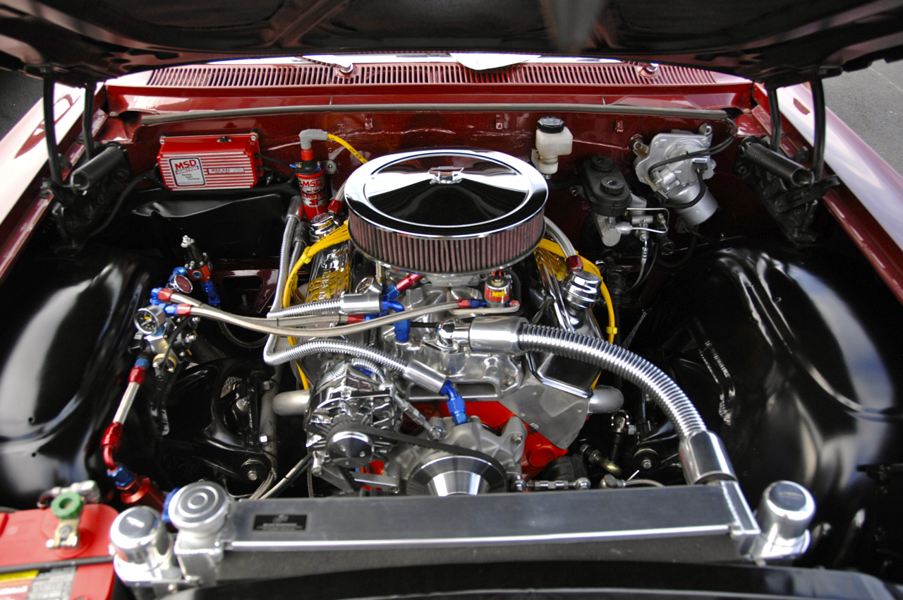 1963 Chevrolet Impala SS engine 355