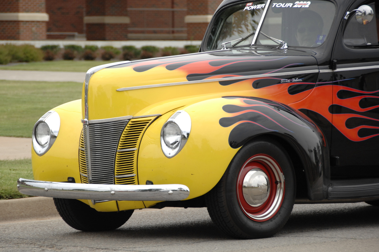 Flamed Ford Deluxe