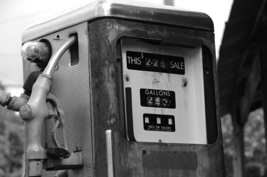 Gas Pump in Register
