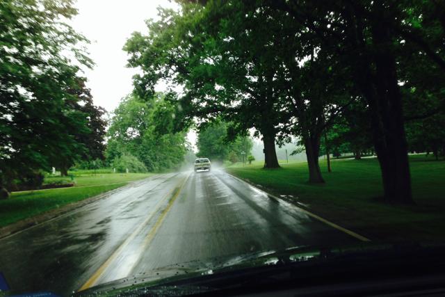 Rain in Michigan