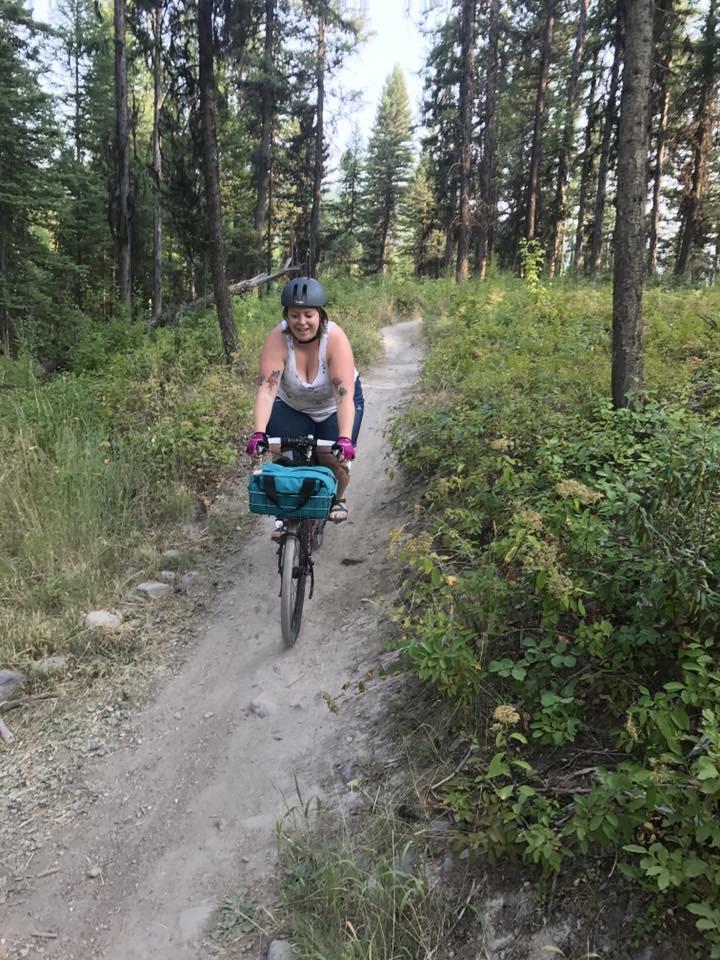 Single track at the bike retreat!