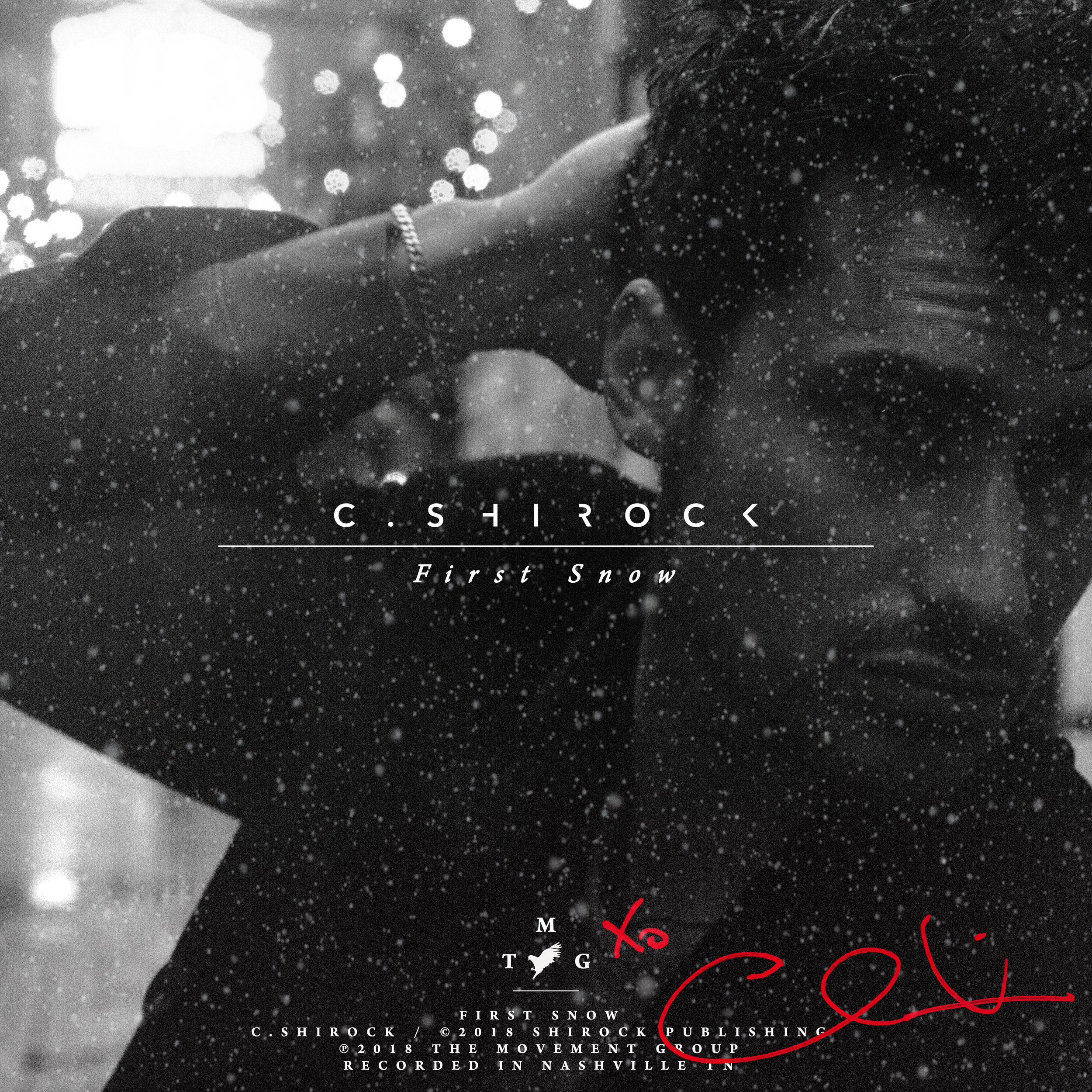 C. SHIROCK  First Snow - Single Photographed by: Emilia Paré