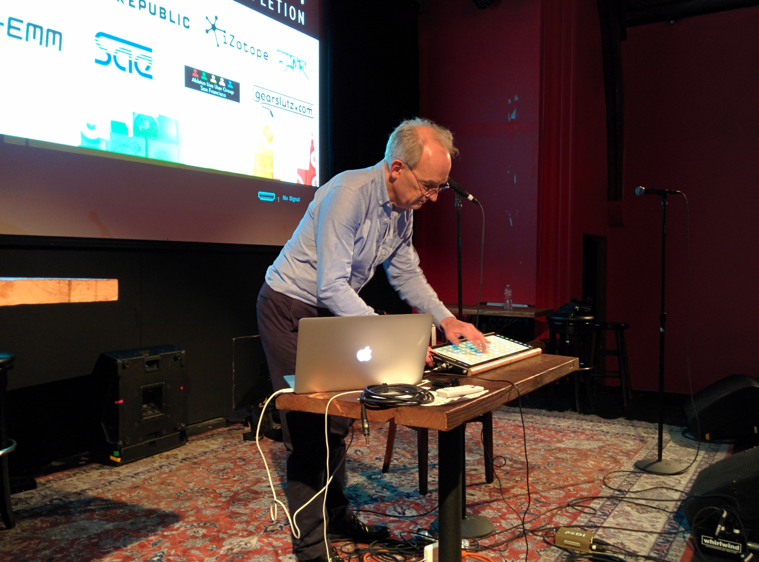 Roger Linn closing Music Expo SF by demoing the LinnStrument
