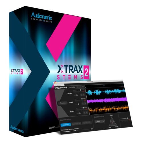 Audionamix XTRAX STEMS 2 - XTRAX STEMS 2