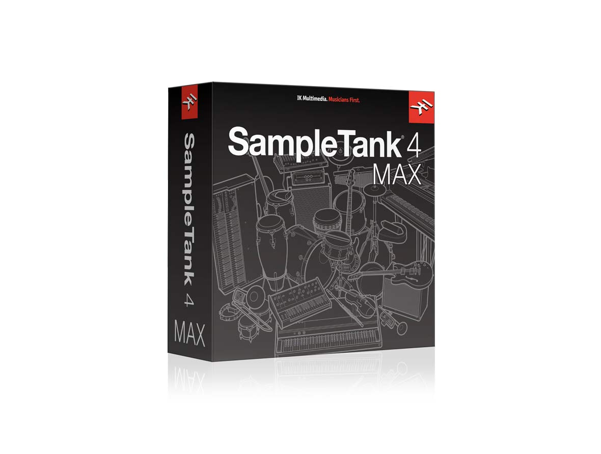IK Multimedia SampleTank 4 Max -
