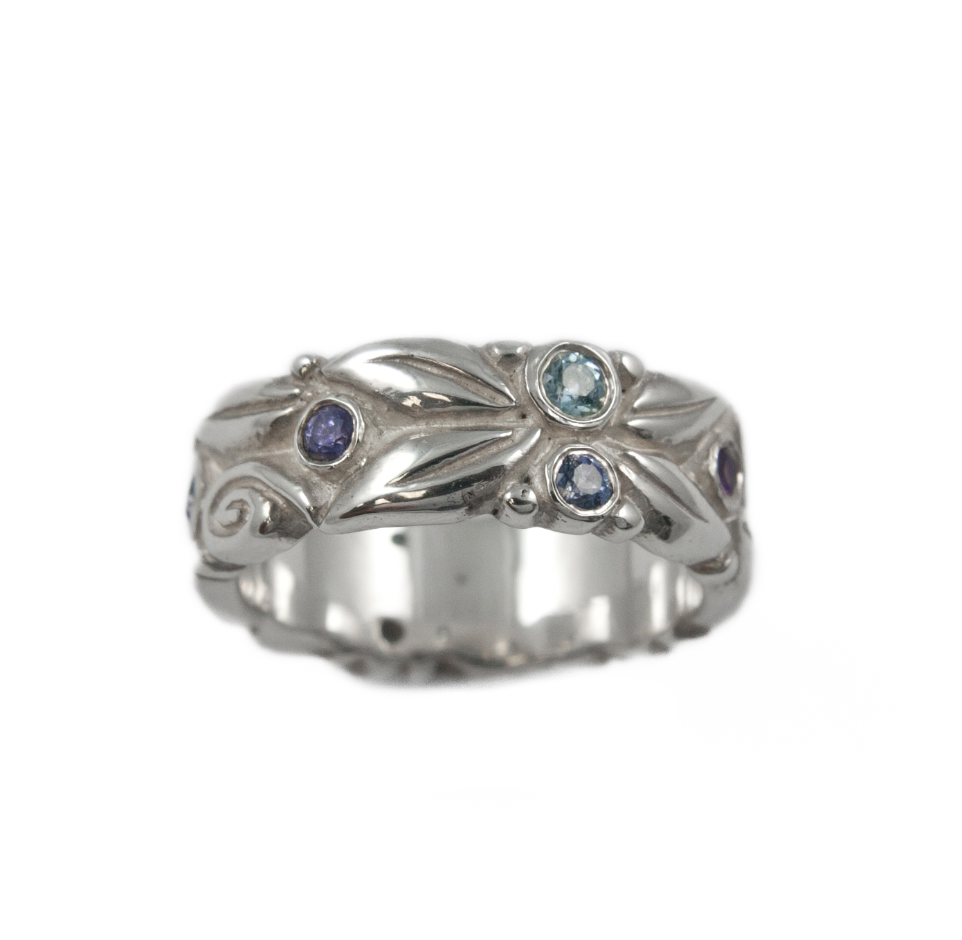 WEDDING ss carved leaves band blue stones EDITED.jpg