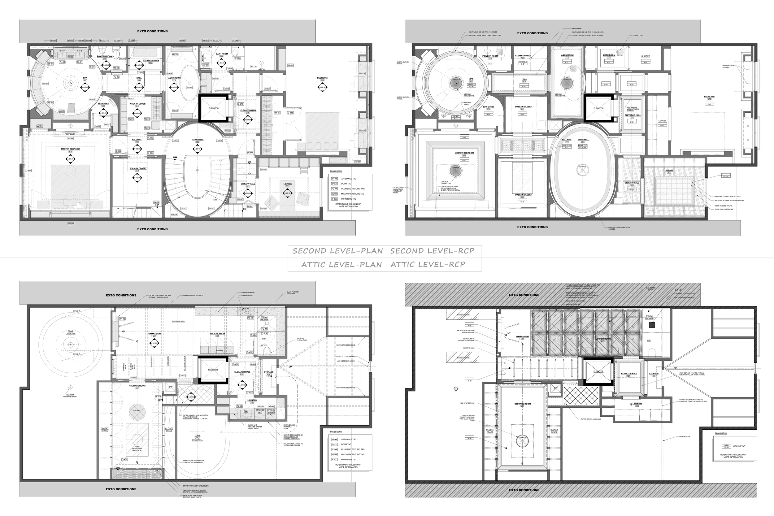 Furniture Plans/RCP's