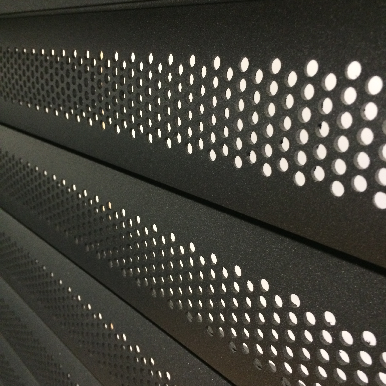 Aluroll P77 Aluminium Security Shutter Slat