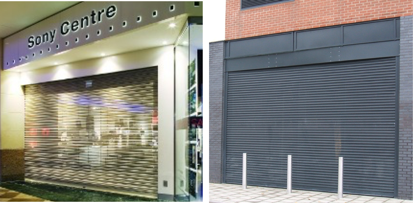 p76 elite security shutter