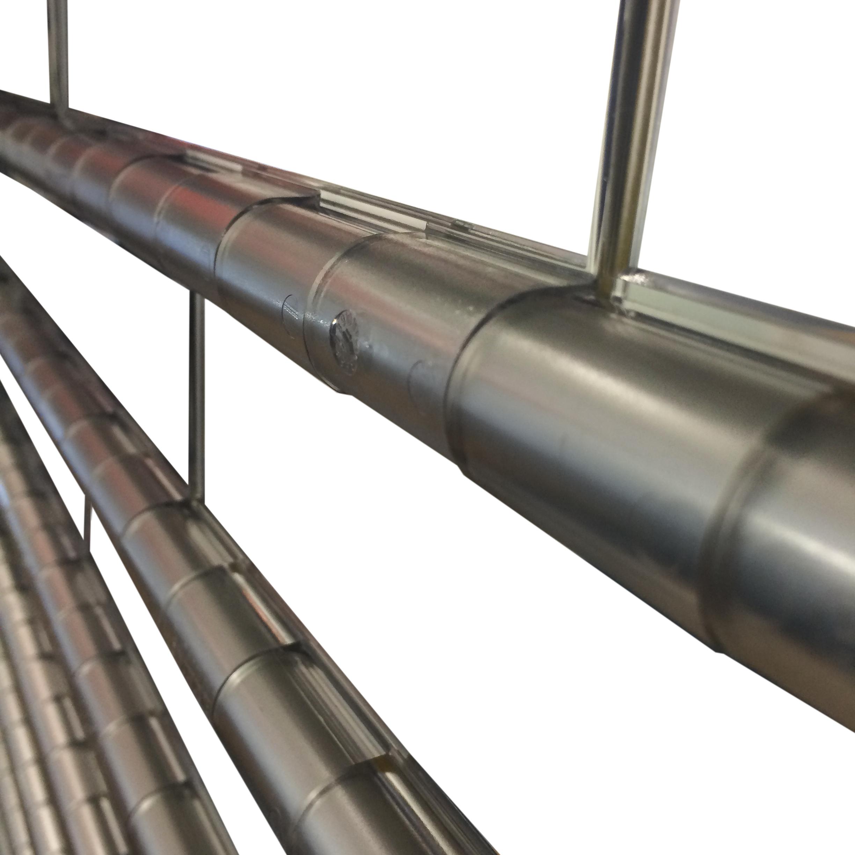 Aluroll Eurolook Transparent Aluminium Security Shutter