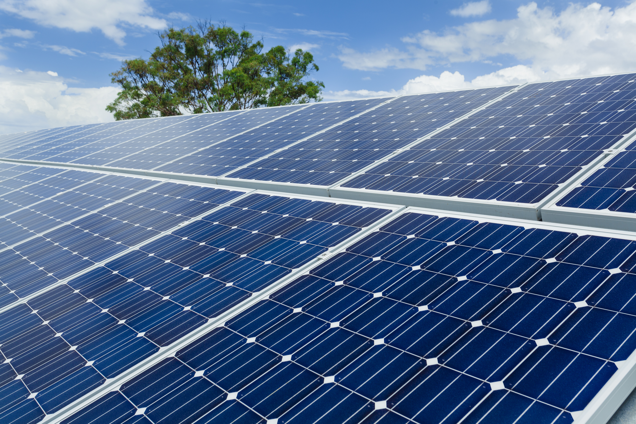 Greener Future for Aluroll - Solar Panels on Factory Roof