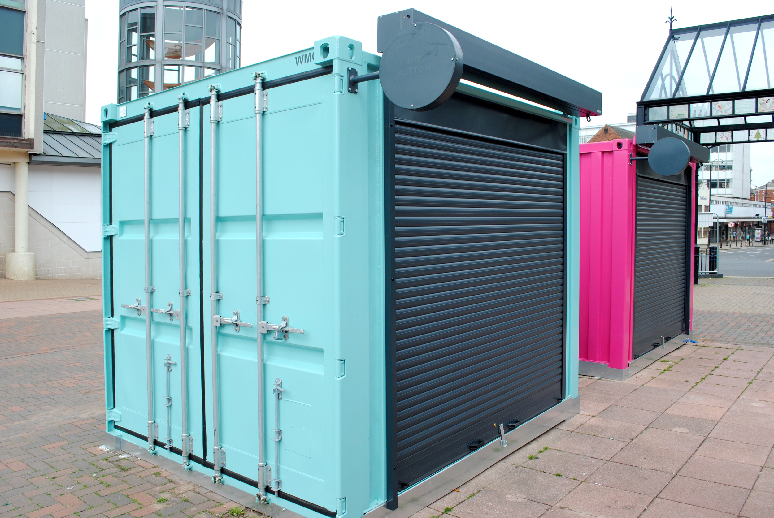 Shipping Container Security Shutters