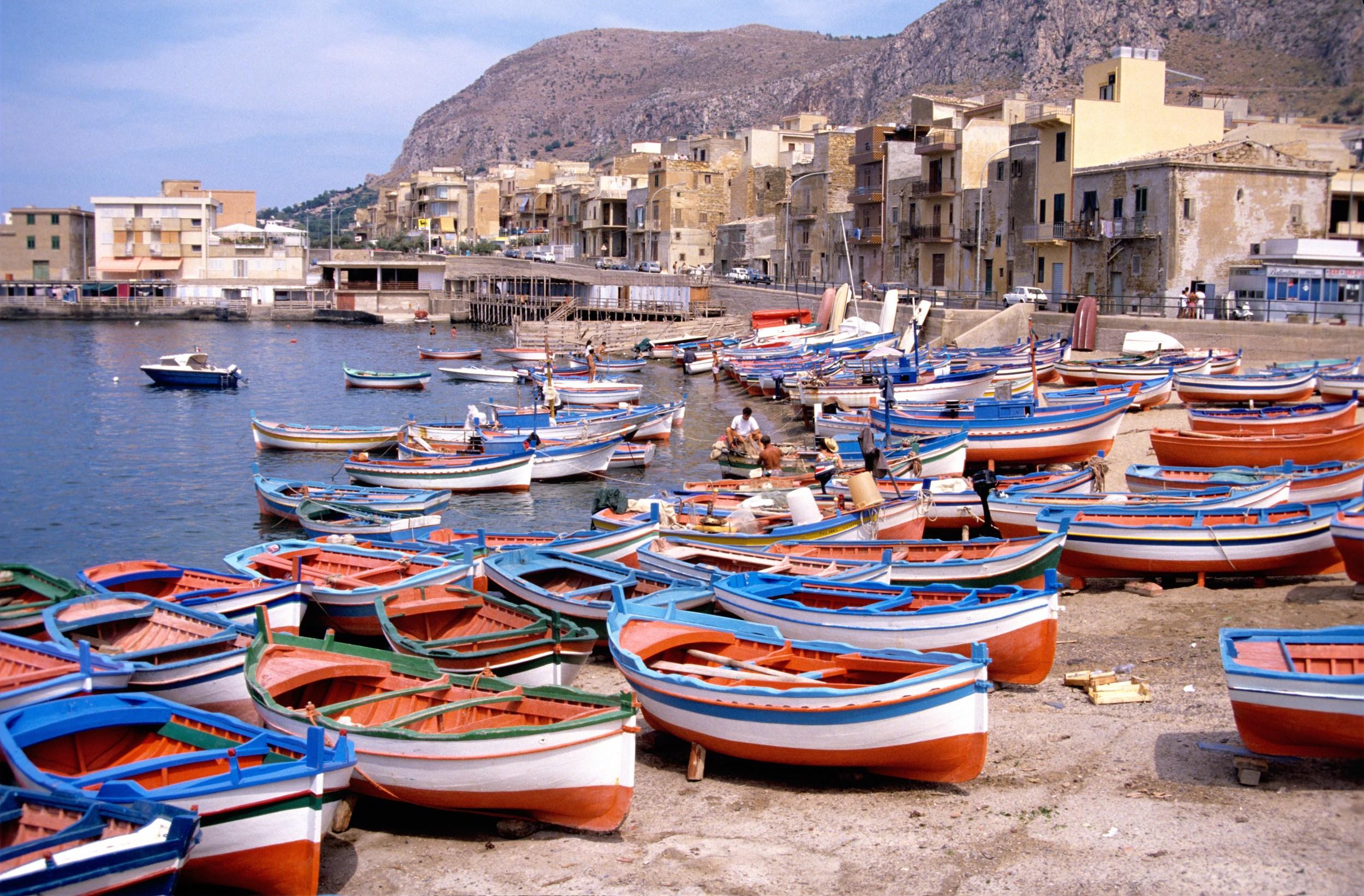 Fishing Boats in Aspra