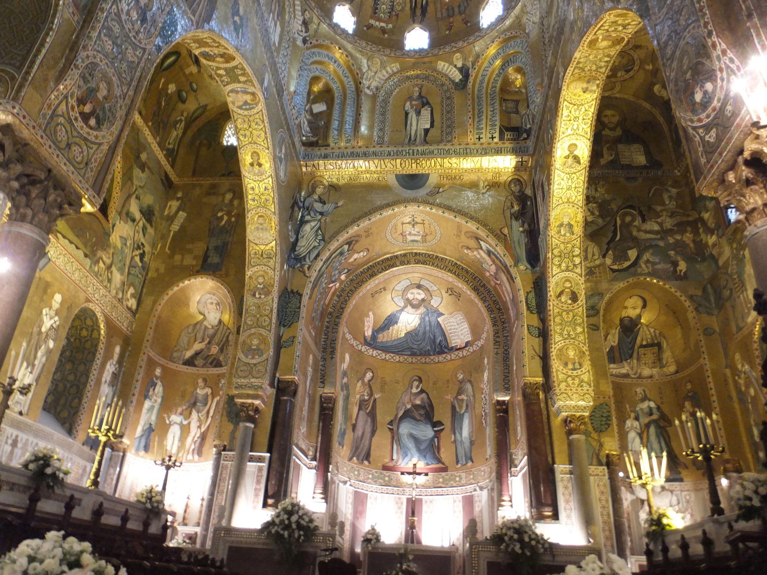 Palatine Chapel, Norman Palace, Palermo