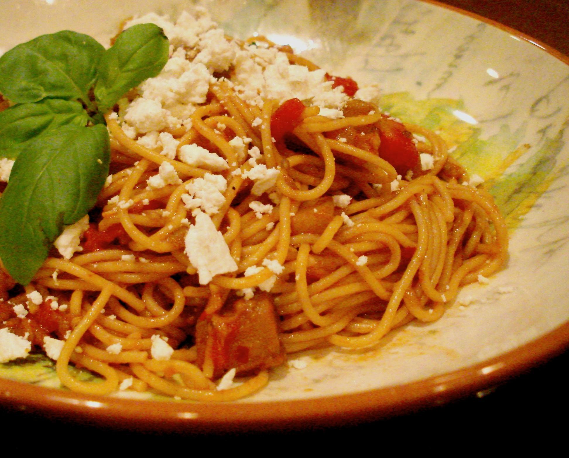Sicily's signature Pasta Norma