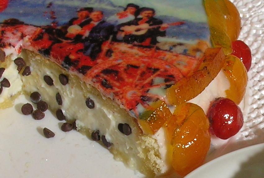 cassata cake slice