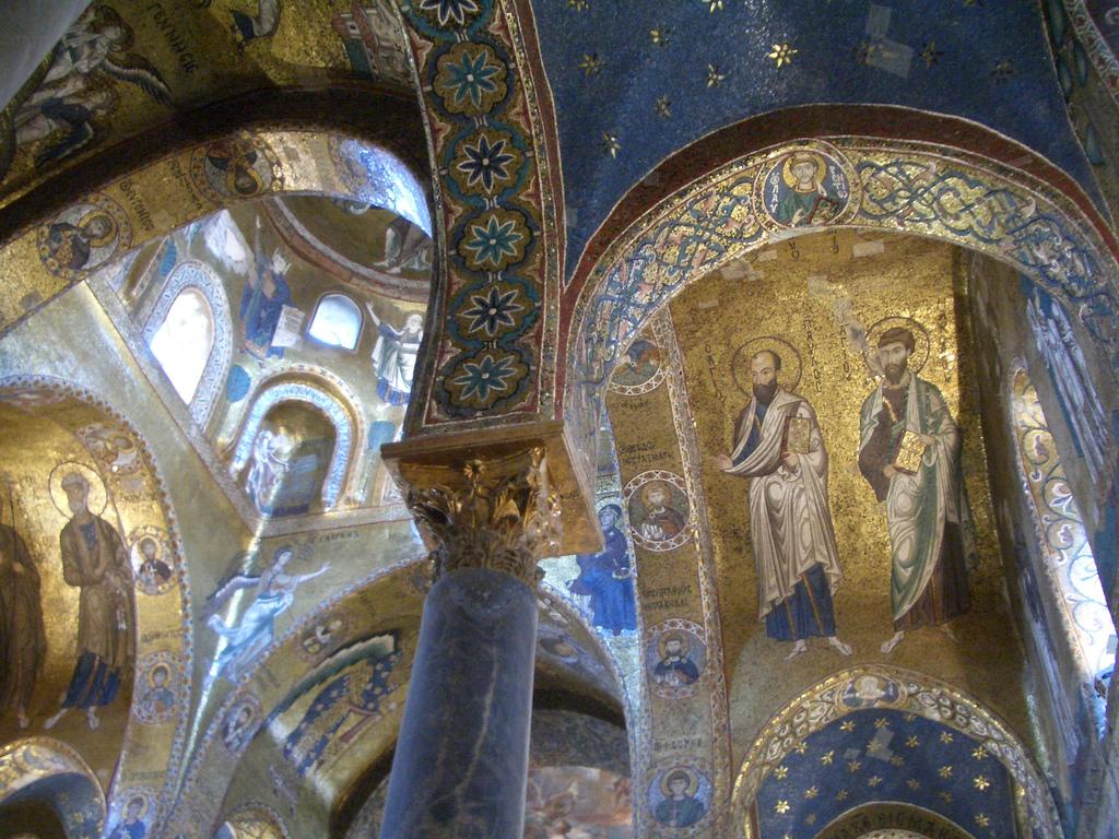 La Martorana, Norman, ca. 1143, Palermo