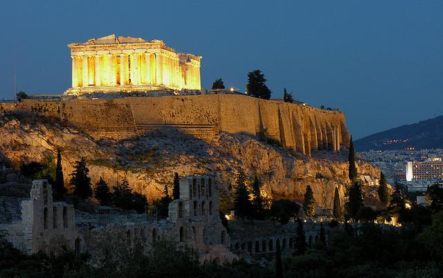 Temple of Athena (Parthenon), Athens