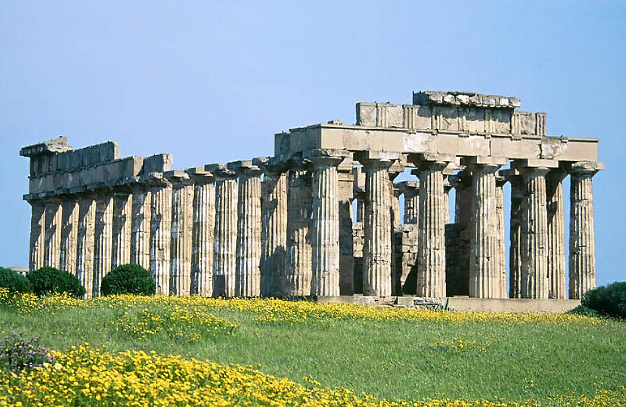 Temple E (to Hera?) at Selinunte