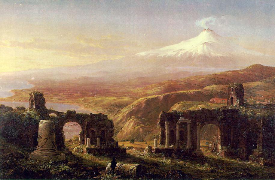 Mount Etna from Taormina , Thomas Cole, 1844
