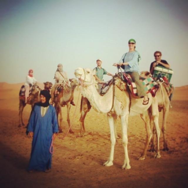 Orion, ITMI Alumni 2007 & Steven, ITMI Alumni 2011, touring in Egypt
