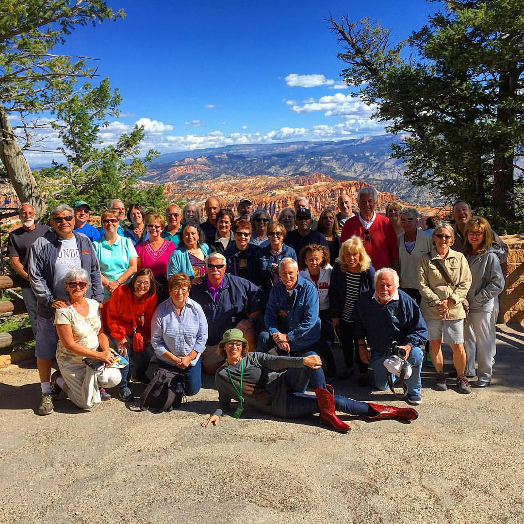Rebecca, ITMI Alumni 2011 touring National Parks with Go Ahead Tours