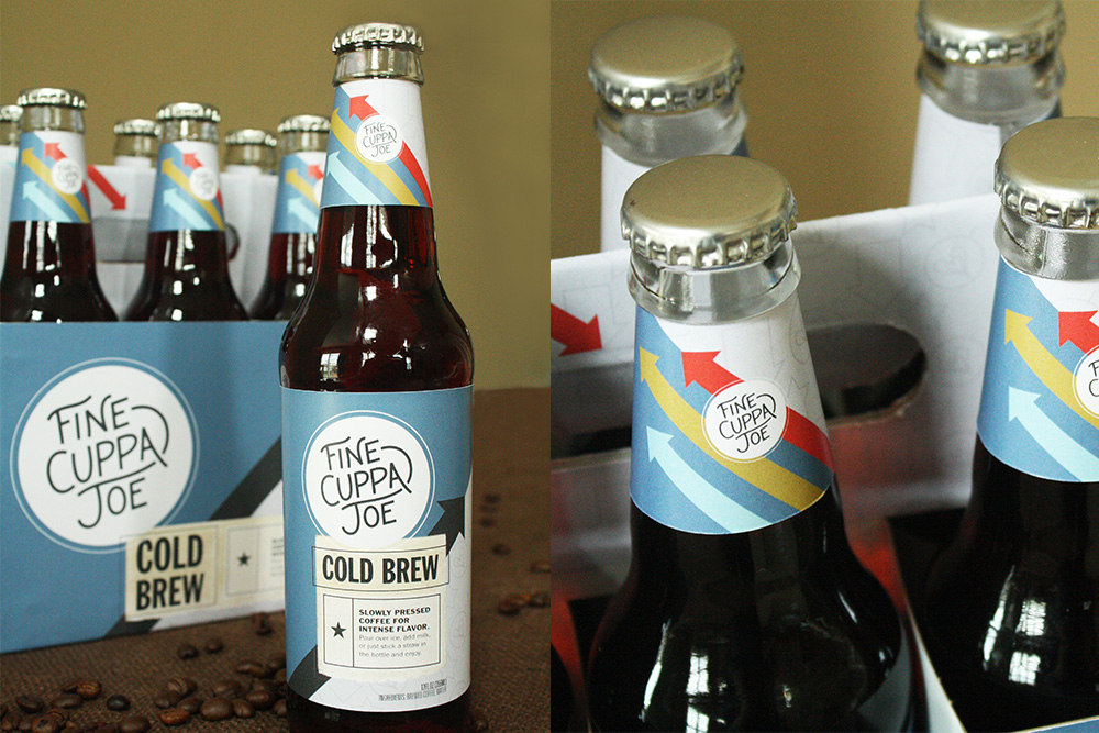 The six packs of cold brew coffee are especially designed to share.